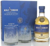 Kilchoman Machir Bay Gift Pack with 2x Glasse...