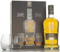 Tomatin Legacy Gift Pack with 2x Glasses Sing...