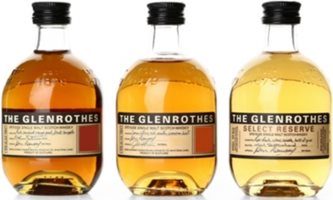 The Glenrothes Glenrothes miniature set 3x100ml