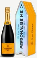 Veuve Clicquot Yellow Label Brut NV Personalisation Tin