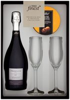 Tesco Finest Prosecco with Truffles & Flutes