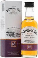 Bowmore 18 Year Old Miniature
