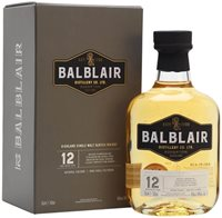 Balblair 12 Year Old Highland Single Malt Sco...