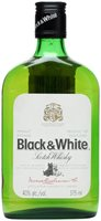 Black & White Scotch Whisky Half Bottle