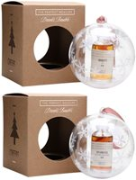 Rum and Whisky Baubles Collection / 3 Rum and 3 Whisky
