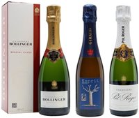 Perfect Pinot Champagne Tasting Set / Virtual Champagne Show