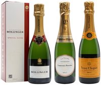 A Tale of 3 Ladies Tasting Set / Virtual Champagne Show