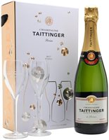 Taittinger Brut Reserve NV Glass Set