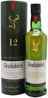 Glenfiddich 12-Year-Old Speyside Single Malt Whisk...
