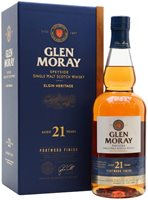 Glen Moray 21 Year Old / Port Wood Finish Spe...