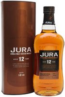 Jura 12 Year Old Island Single Malt Scotch Wh...