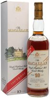 Macallan 10 Year Old / 100 Proof Speyside Sin...