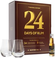 24 Days of Rum Advent Calendar / 24x2cl
