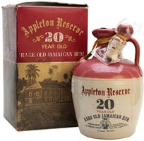 Appleton Reserve 20 Year Old Decanter / Bot.1970s Gift