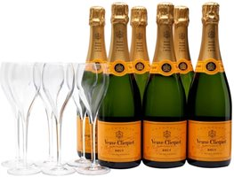 Veuve Clicquot Yellow Label NV Home Party Set