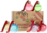Pickering's Gin Six 5cl Christmas Baubles Set