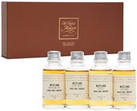 Westland  'A Brave New Tradition in Whiskey' Tasting Set / 4x3cl