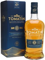 Tomatin 8 Year Old Bourbon & Sherry Casks / L...