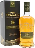 Tomatin 12 Year Old / Bourbon & Sherry Casks ...