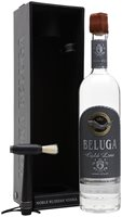 Beluga Gold Line Vodka Leather Gift Box