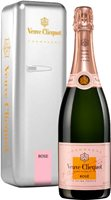 Veuve Clicquot Yellow Label Rose NV Silver Fridge
