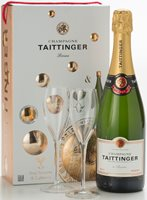 Taittinger Brut Reserve NV Giftbox