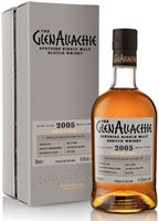 GlenAllachie 15 Year Old Virgin Oak Single Cask 2005 Single Malt Whisky