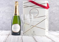 Laurent-Perrier Champagne and Flutes Gift Set