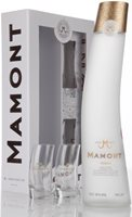 Mamont Vodka Gift Pack with 2 Glasses Plain V...