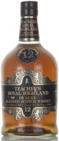 Teacher's Royal Highland 12 Year Old 1970 Ble...